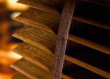 Деревянные и бамбуковые горизонтальные жалюзи