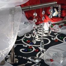 Коллекция Топ-Декор наконечники с хрустальными подвесками