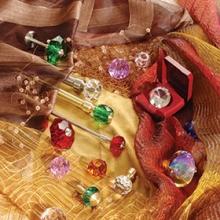 Карнизы Топ-Декор наконечники и держатели с кристаллами