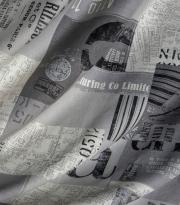 Ткань Maps - 45 gris