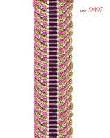Подхват плетеный жаккардовый 9497