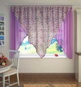 Кухонная штора К201